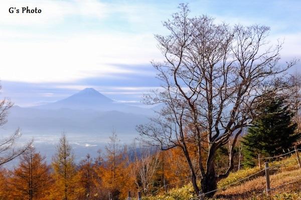 富士山甘利山20181031