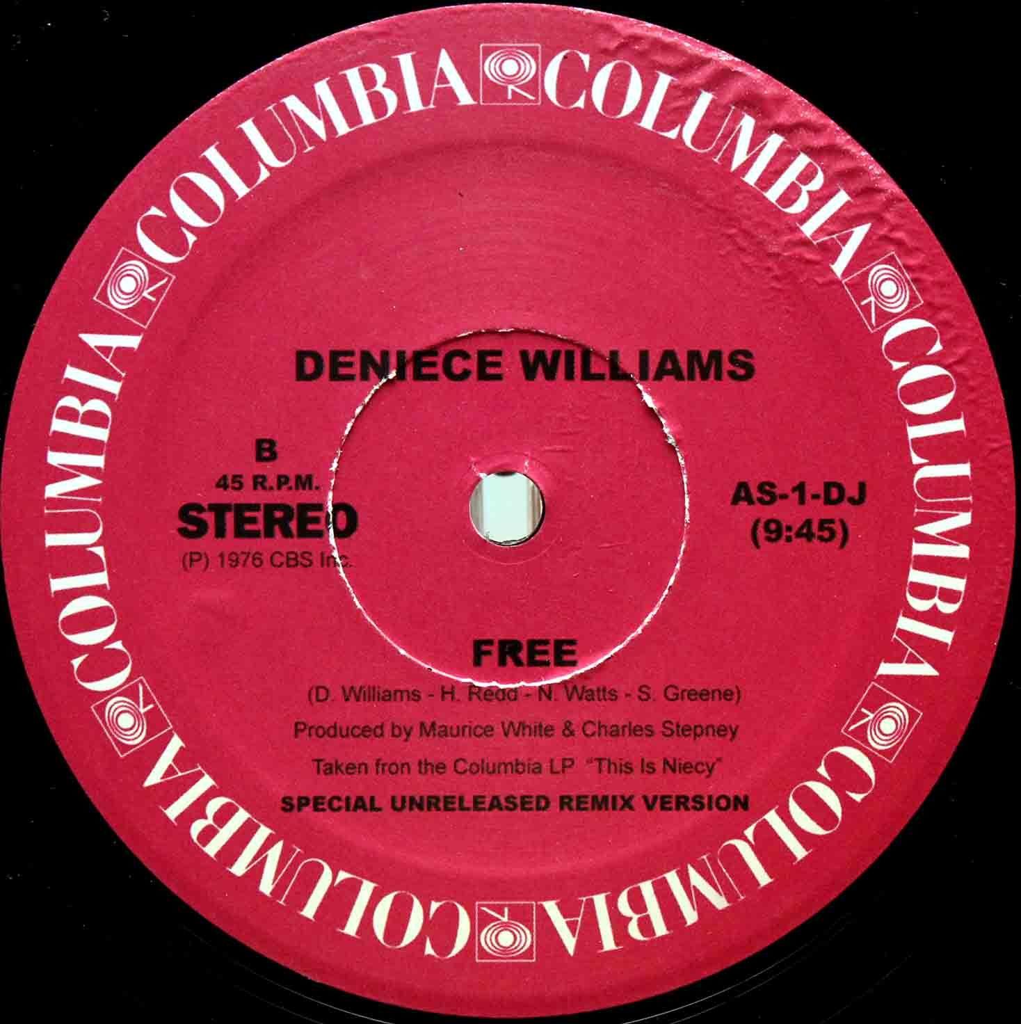 Deniece Williams – Free (Remix) 02