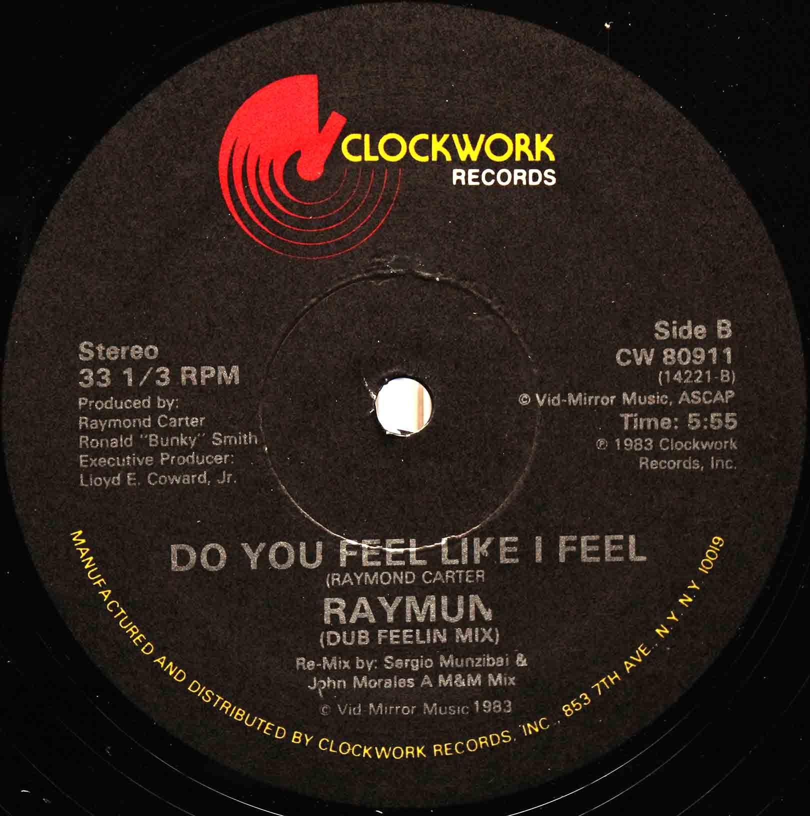 Raymun – Do You Feel Like I Feel 04