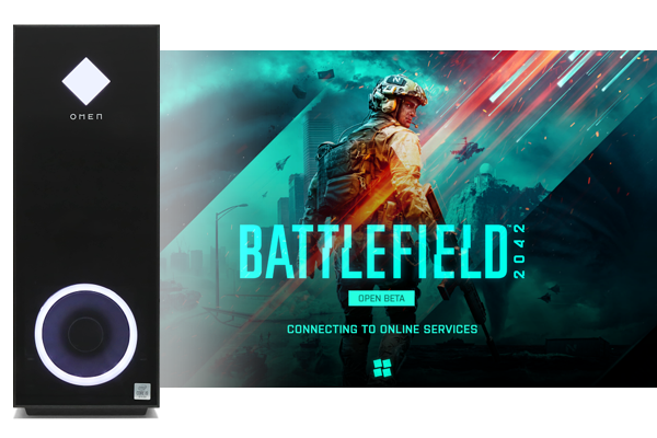OMEN by HP 30L Desktop_Battlefield 2042 オープンβテストをプレイ_211009_01a