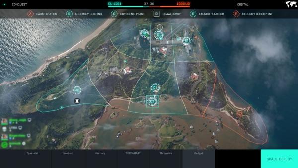 Battlefield 2042 オープンベータ_マップ