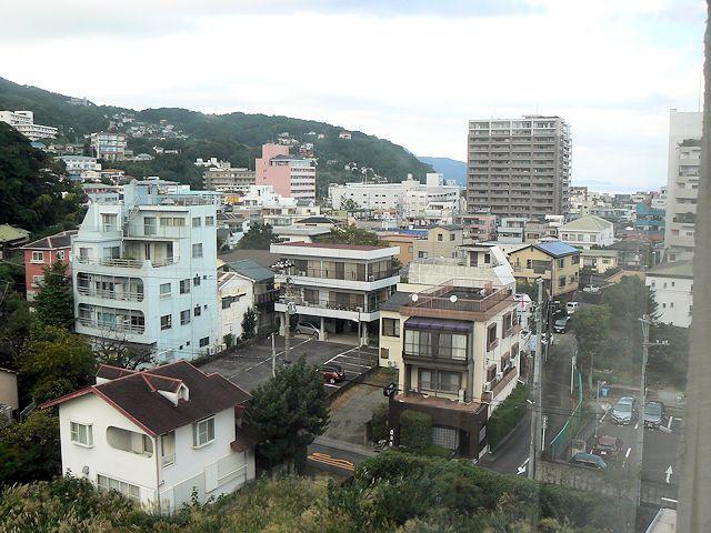 ラフォーレ伊東の窓からの景色