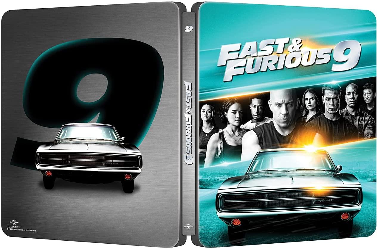 ワイルド・スピード/ジェットブレイク steelbook  Fast & Furious 9 Amazon.co.jp スチールブック