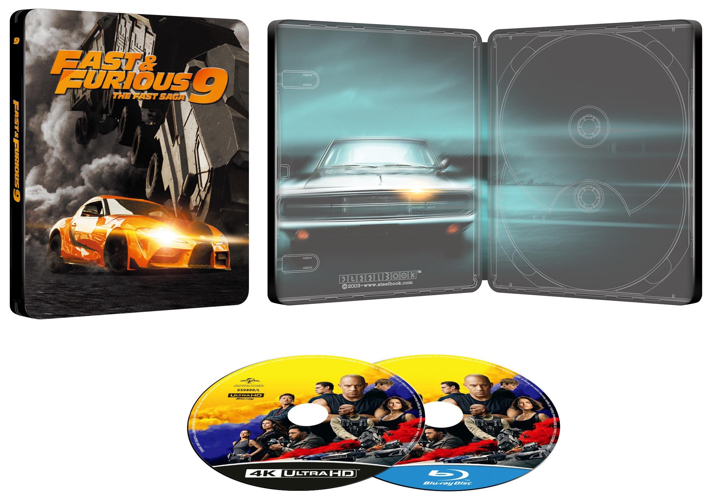 ワイルド・スピード/ジェットブレイク steelbook  Fast & Furious 9 NBCユニバーサルオンラインストア スチールブック