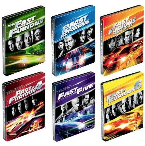 ワイルド・スピード BEST BUY スチールブック Fast and the Furious steelbook